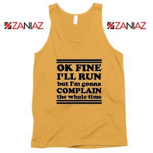 Run Complain Mens Gym Tank Top Workout Tank Top Gym Gifts Sunshine