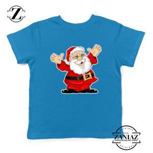 Saint Nicholas Santa Claws Kids T-Shirt Size S-XL Blue