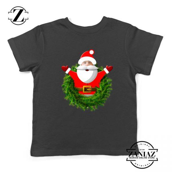 Santa Claws Gift Kids T-Shirt Christmas Kids Shirt Size S-XL Black