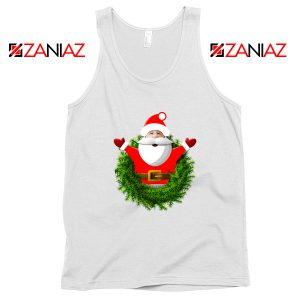 Santa Claws Gift Tank Top Christmas Tank Top Size S-3XL White