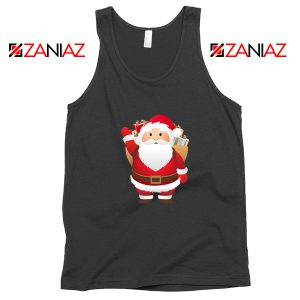 Santa Claws Tank Top Funny Christmas Gift Tank Top Size S-3XL Black