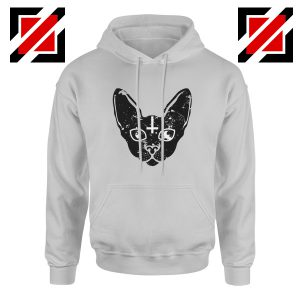 Satan Cat Funny Animals Hoodie Pet Women Hoodie Size S-2XL Sport Grey
