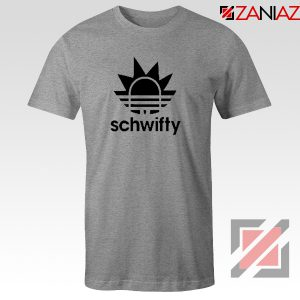 Schwifty Adidas Parody T Shirt Rick And Morty Tee Shirt Size S-3XL Sport Grey