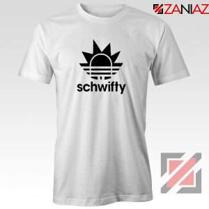 Schwifty Adidas Parody T Shirt Rick And Morty Tee Shirt Size S-3XL White