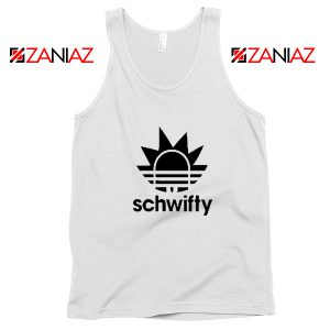 Schwifty Adidas Parody Tank Top Rick And Morty Tank Top Size S-3XL White
