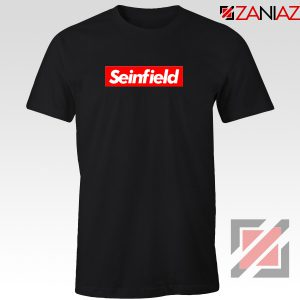 Seinfeld Supreme Parody T-Shirt American TV Series T-Shirt Size S-3XL Black