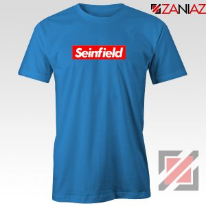 Seinfeld Supreme Parody T-Shirt American TV Series T-Shirt Size S-3XL Blue