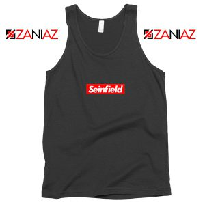 Seinfeld Supreme Parody Tank Top American TV Series Tank Top Black