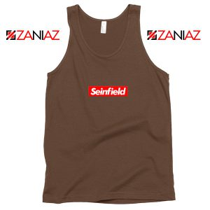 Seinfeld Supreme Parody Tank Top American TV Series Tank Top Brown