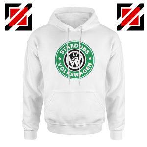 Stardubs Volkswagen Hoodie Volkswagen Merchandise Hoodie White