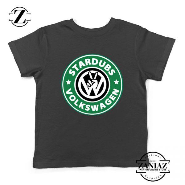 Stardubs Volkswagen Merchandise Kids Tshirt Size S-XL Black