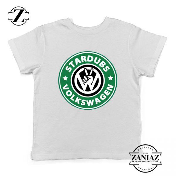 Stardubs Volkswagen Merchandise Kids Tshirt Size S-XL White