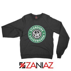 Stardubs Volkswagen Sweatshirt Volkswagen Merchandise Sweatshirt Black