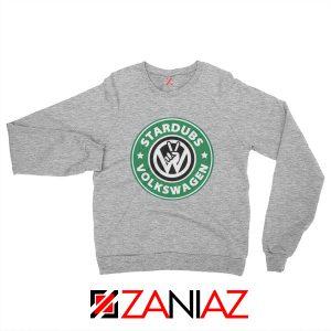 Stardubs Volkswagen Sweatshirt Volkswagen Merchandise Sweatshirt Sport Grey