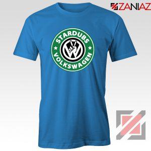 Stardubs Volkswagen T-Shirt Volkswagen Merchandise Tshirt Size S-3XL Blue