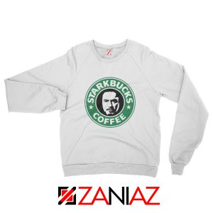 Starkbucks Coffee Sweatshirt Starbucks Parody Sweatshirt Size S-2XL White