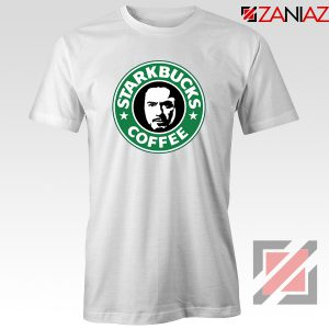 Starkbucks Coffee T-Shirt Starbucks Parody Tee Shirt Size S-3XL White