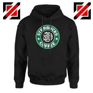 Sterbucks Coffee Hoodie Funny Starbucks Parody Hoodie Size S-2XL Black