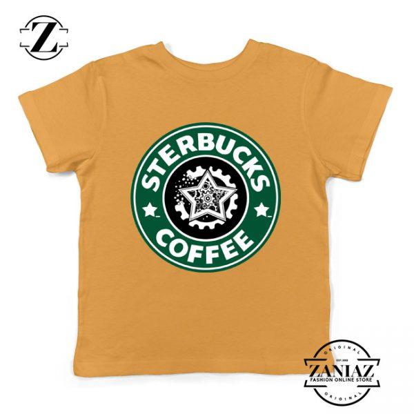 Sterbucks Coffee Starbucks Parody Kids Tshirt Size S-XL Sunshine