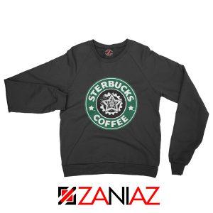 Sterbucks Coffee Sweatshirt Starbucks Parody Sweatshirt Size S-2XL Black