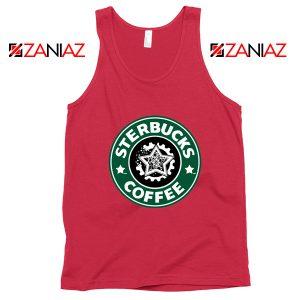 Sterbucks Coffee Tank Top Starbucks Parody Tank Top Size S-3XL Red