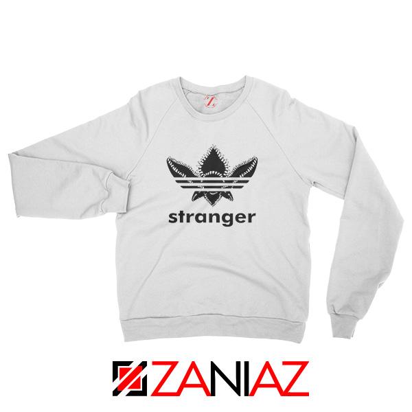 Stranger Things Adidas Logo Sweatshirt American Tv Series Sweatshirt