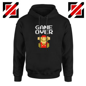 Super Mario Fall Hoodie Game Over Mario Best Hoodie Size S-2XL Black