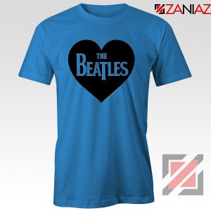 The Beatles Heart Love Women T-Shirt The Beatles Gift T-shirt Navy Blue