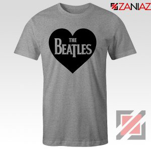 The Beatles Heart Love Women T-Shirt The Beatles Gift T-shirt Sport Grey