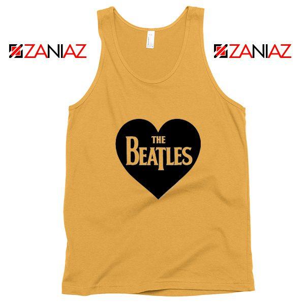 The Beatles Heart Love Women Tank Top The Beatles Gift Tank Top Sunshine