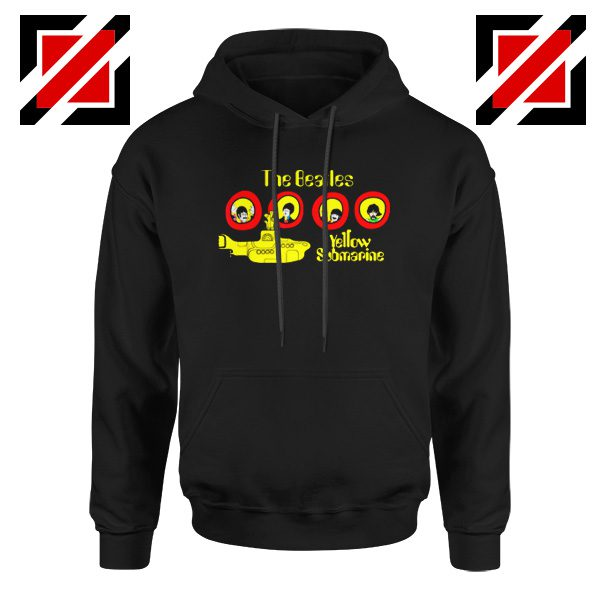 The Beatles Yellow Submarine Hoodie Music Band Hoodie Size S-2XL Black