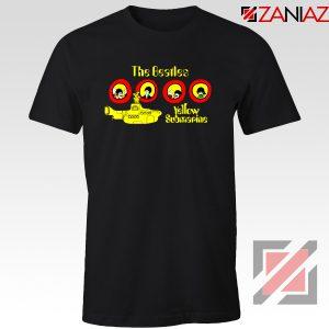 The Beatles Yellow Submarine T-shirt Music Band Tee Shirt Size S-3XL Black