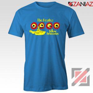 The Beatles Yellow Submarine T-shirt Music Band Tee Shirt Size S-3XL Blue