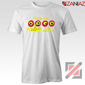 The Beatles Yellow Submarine T-shirt Music Band Tee Shirt Size S-3XL White
