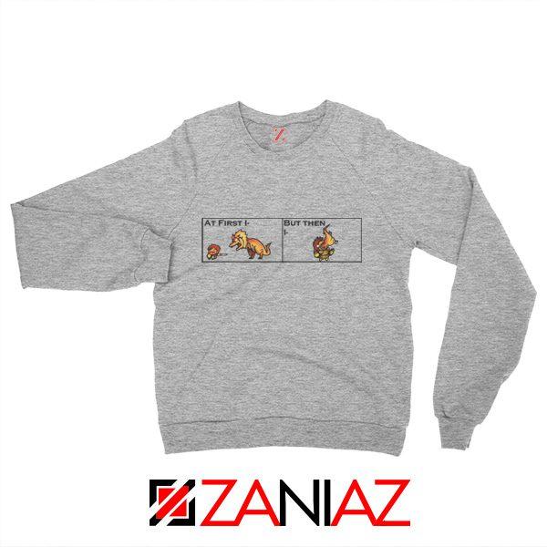 The Great Jaggi Sweatshirt Funny Monsters Hunter Merch Sweatshirt Sport Grey