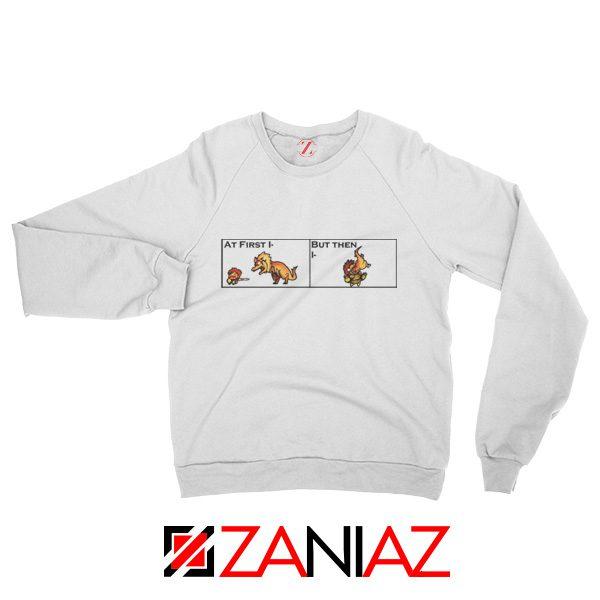 The Great Jaggi Sweatshirt Funny Monsters Hunter Merch Sweatshirt White