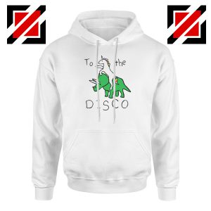 To The Disco Hoodie Unicorn Animal Cheap Hoodie Size S-2XL White