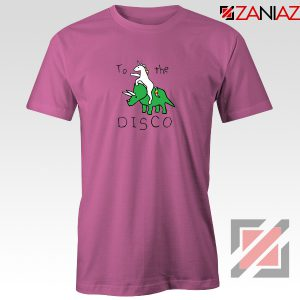 To The Disco T shirt Unicorn Animal Cheap Tee Shirt Size S-3XL Pink