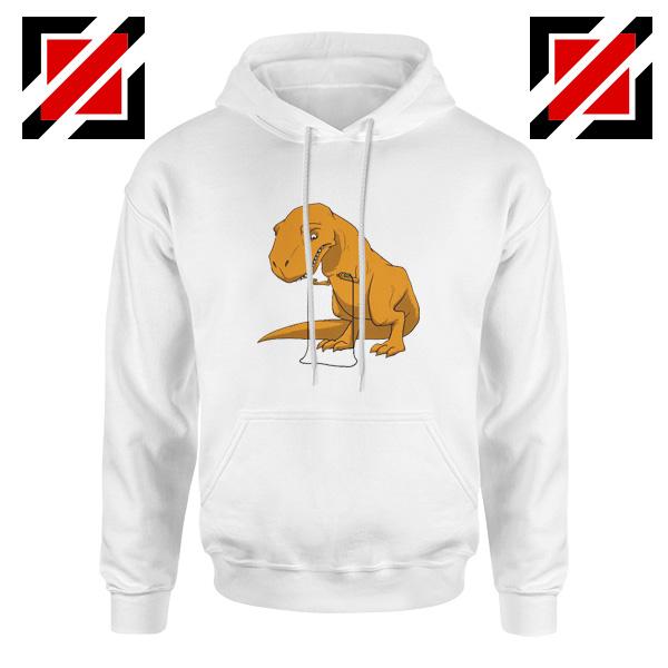 Tyrannosaurus Rex Hoodie Animal Fitness Hoodie Size S-2XL White