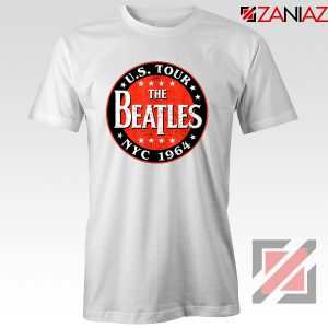 US Tour NYC 1964 T-shirt The Beatles Band Tee Shirt Size S-3XL White