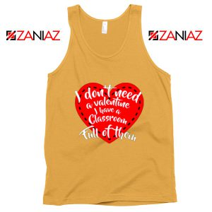 Valentines Teacher Tank Top Funny Couples Tank Top Size S-3XL Sunshine