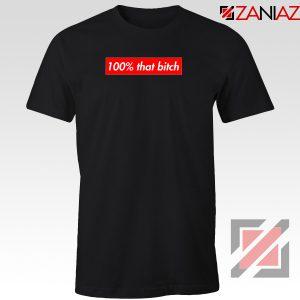100% That Bitch Box Logo T-Shirt Lizzo Concert Tee Shirt Size S-3XL Black