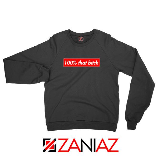 100% That Bitch Box Sweatshirt Lizzo Concert Sweatshirt Size S-2XL