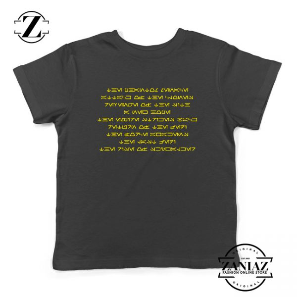 Skywalker Saga Films Kids Shirts Star Wars Saga Films Youth T-Shirt