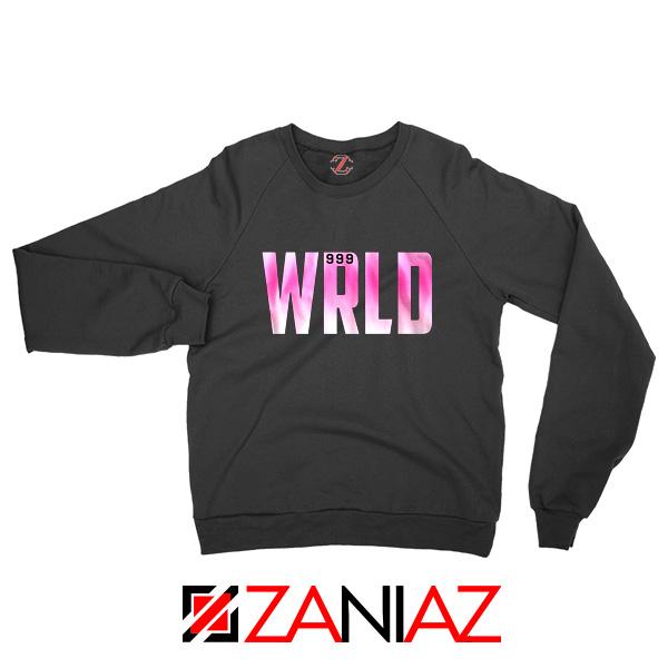 999 Club Wrld Sweatshirt Hip Hop Music Sweatshirt Size S-2XL Black