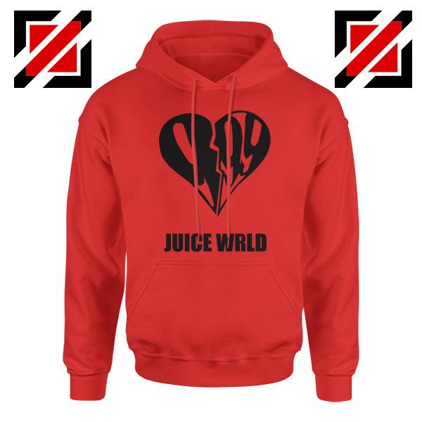 999 Heart WRLD Hoodie Juicer Rapper Hoodie Size S-2XL Red