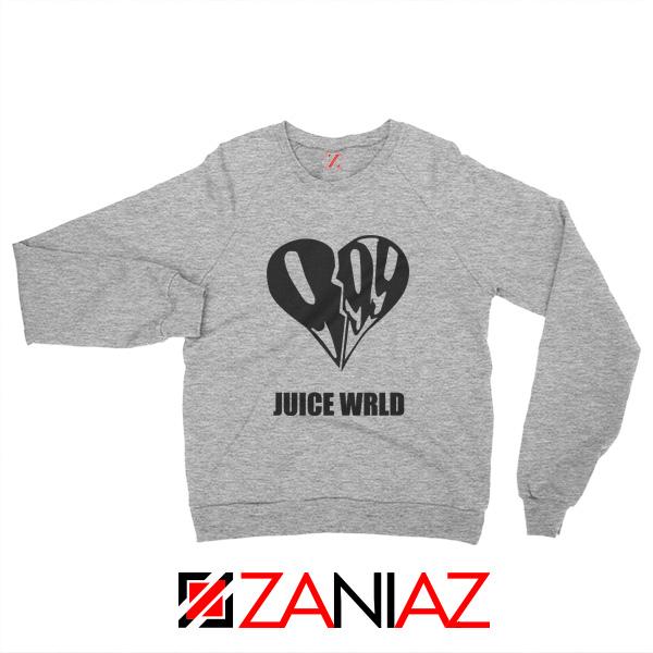 999 Heart WRLD Sweatshirt Juicer Rapper Sweatshirt Size S-2XL