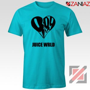 999 Heart WRLD T-Shirt Juicer Rapper Tee Shirt Size S-3XL