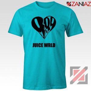 999 Heart WRLD T-Shirt Juicer Rapper Tee Shirt Size S-3XL