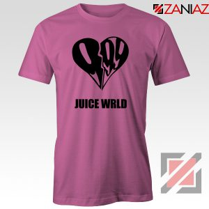 999 Heart WRLD T-Shirt Juicer Rapper Tee Shirt Size S-3XL Pink